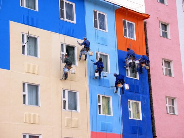 Фасадные работы в Одессе