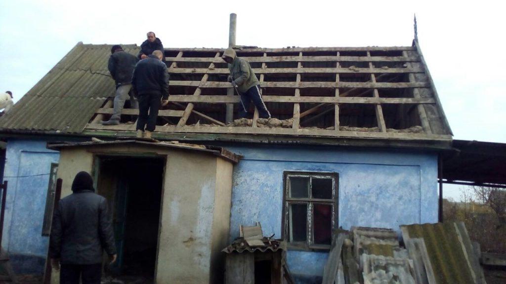 Разборка частного дома в городе Одесса
