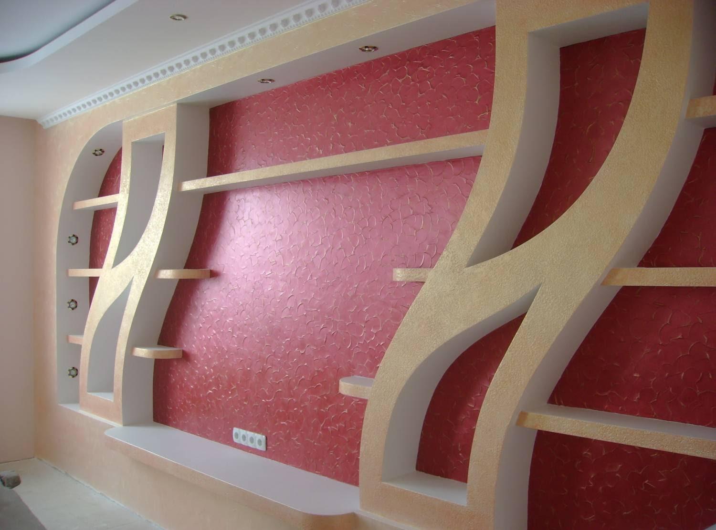 Декор своими руками из гипсокартона на стенах 468
