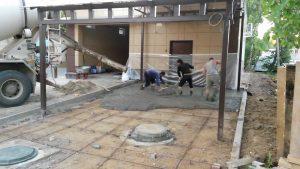 Площадки из бетона