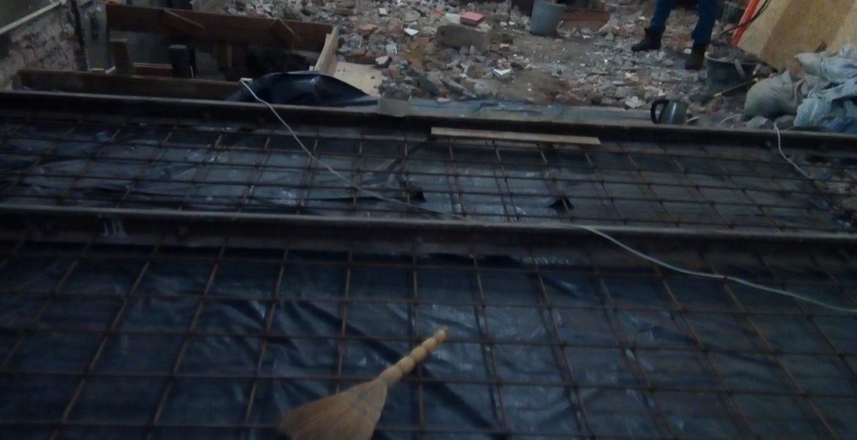 Опалубка под заливку бетона