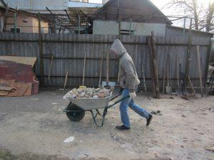Демонтаж дома Одесса