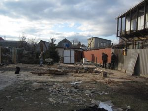 Демонтаж дома в Одессе