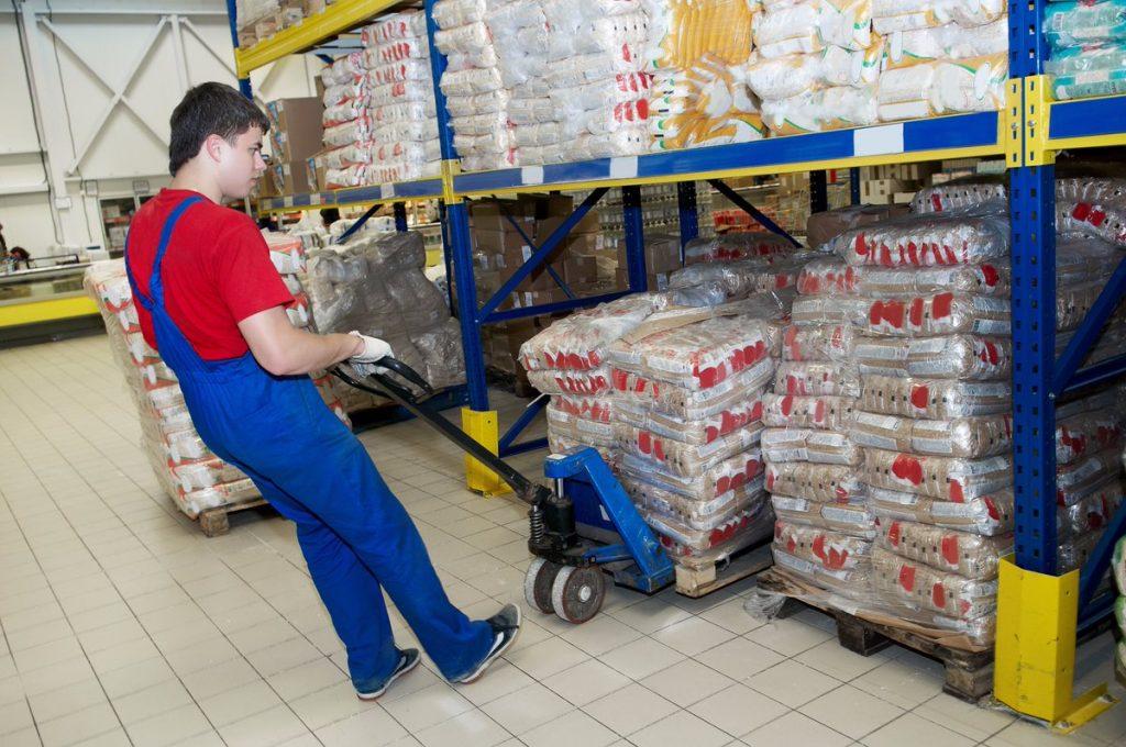 Услуги разнорабочих на склад