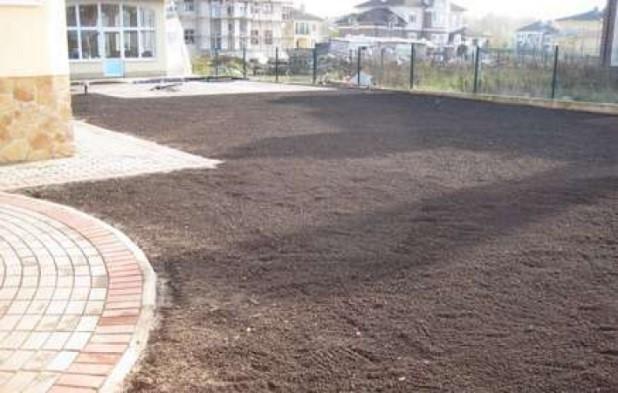 Земляные работы - планировка грунта