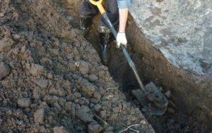 Услуги разнорабочих для земляных работ