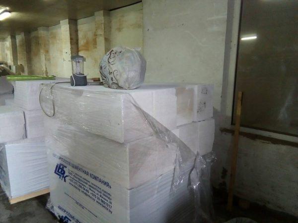 Газоблок перегородочный 60x40x20, купить в Одессе