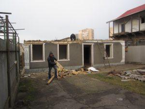 Разборка ветхих зданий