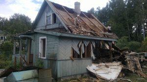 Демонтаж дачных построек