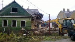 Демонтаж дачных построек в Одессе