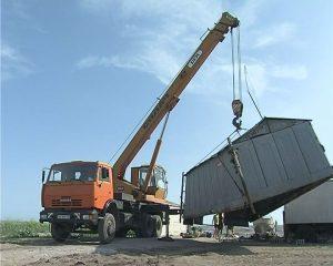Демонтаж металлических гаражей