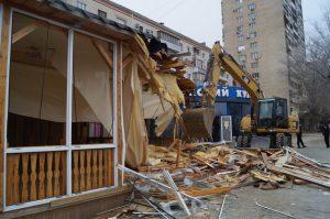 Демонтаж пристроек в городе Одесса