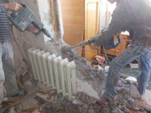 Демонтаж стен Одесса