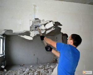 Демонтаж стен в Одессе