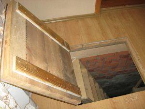 Строительство погреба в квартире