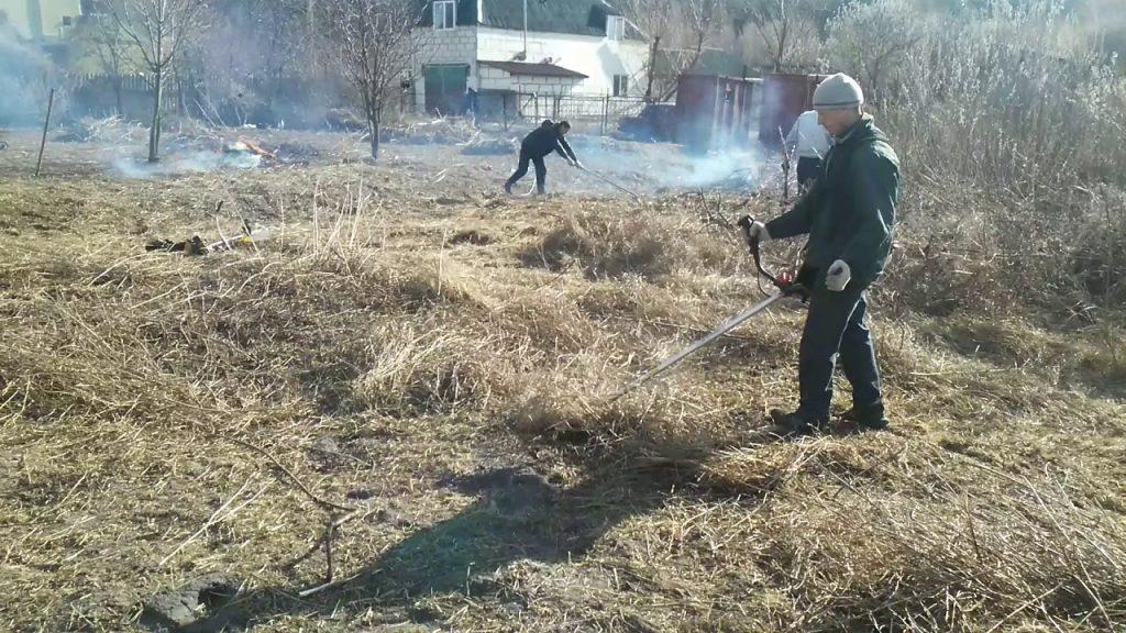 Расчистка участков Одесса