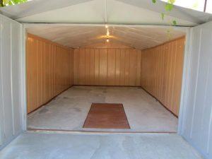Ремонт металлических гаражей