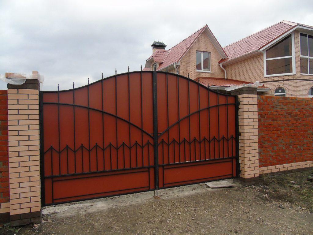 Сварка ворот