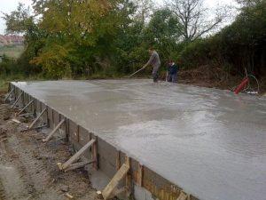 Бетонирование фундаментной плиты Одесса