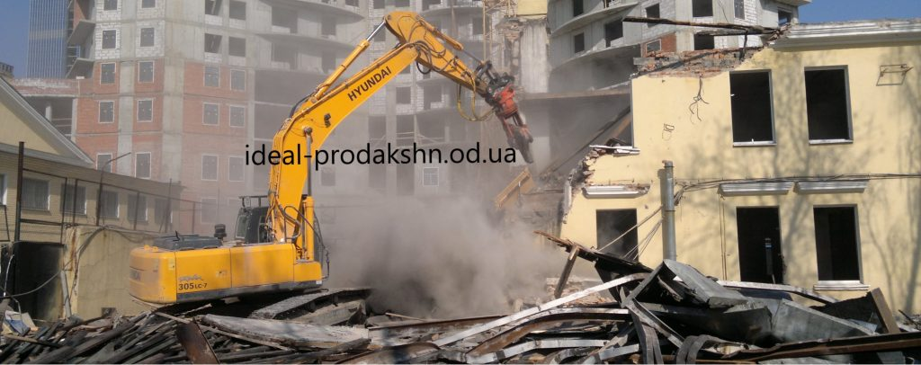 Демонтаж ветхих построек