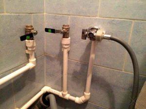 Подключение водопровода