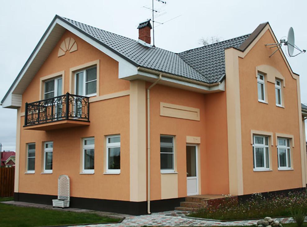 краска для покраски фасада дома снаружи