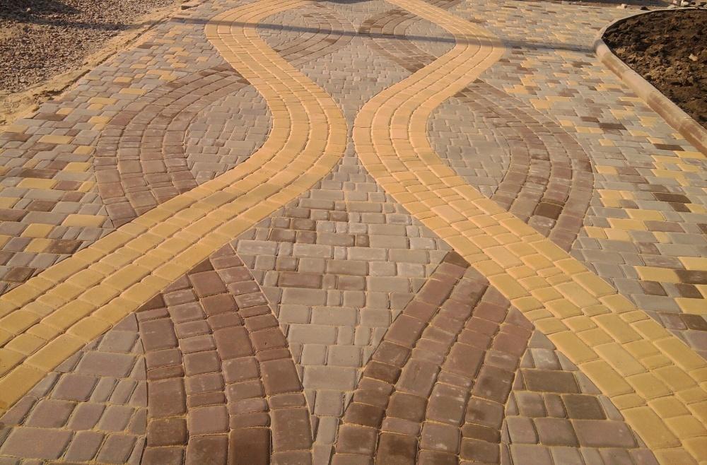 Укладка тротуарной плитки - Одесса