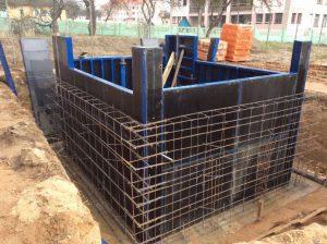 Строительство монолитного погреба