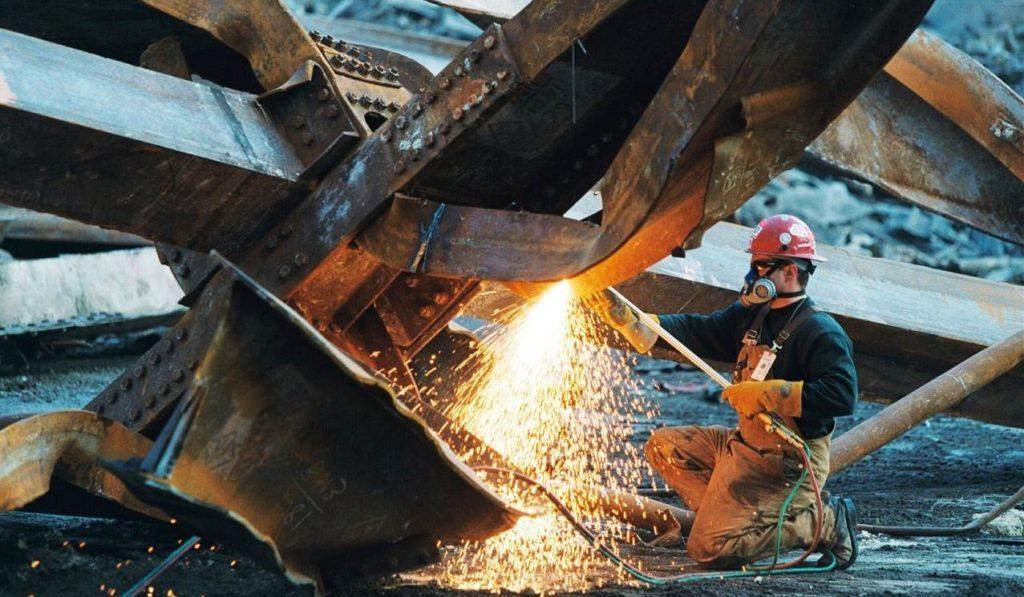 Порезка металлоконструкций