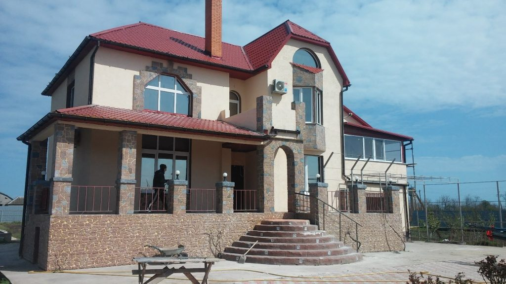 Строительство частного дома в Одессе