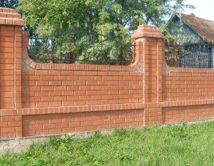 Забор из кирпича Одесса