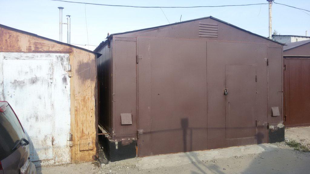 Изготовление металлических гаражей в Одессе