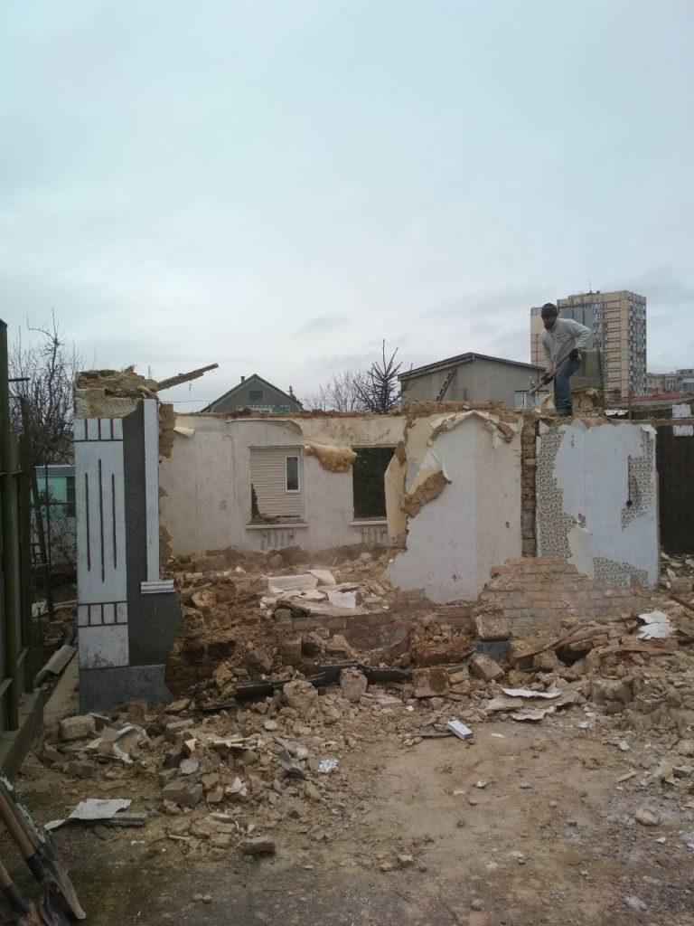 Демонтаж домов Одесса