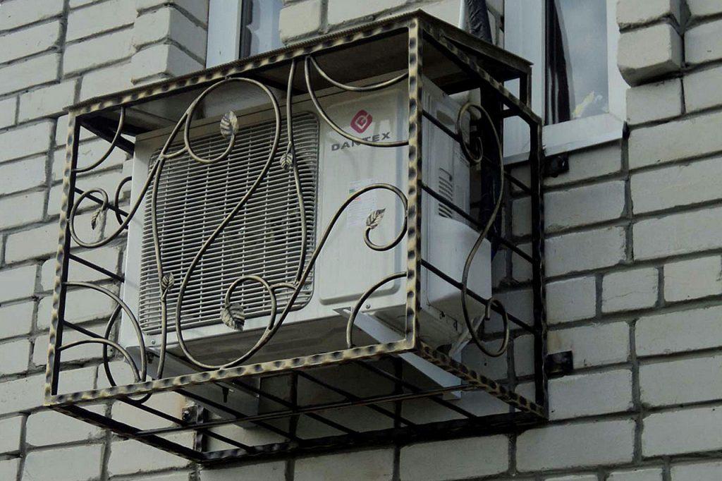 Антивандальные решетки на кондиционер в Одессе