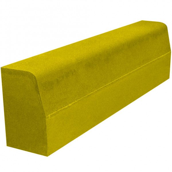 Бордюр желтый