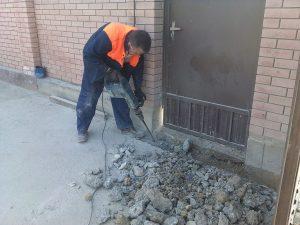 Демонтаж бетона Одесса