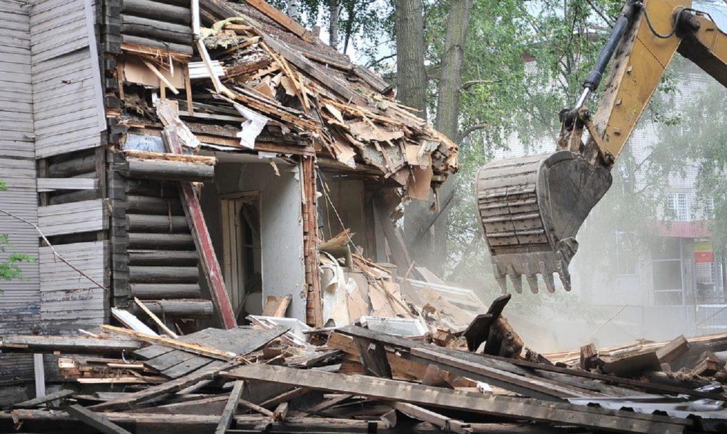 Демонтаж домов