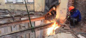 Демонтаж перекрытий в Одессе