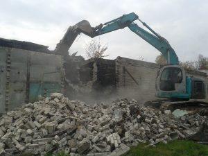 Демонтаж заборов в Одессе