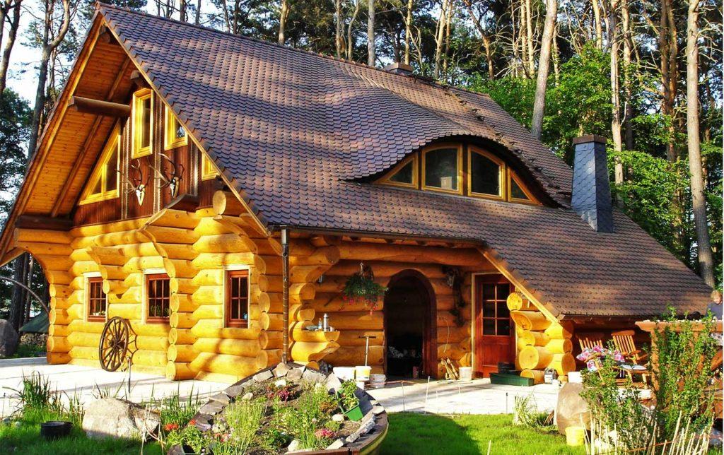 Деревянные дома в Одессе заказать