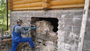 Демонтаж кирпичной кладки Одесса