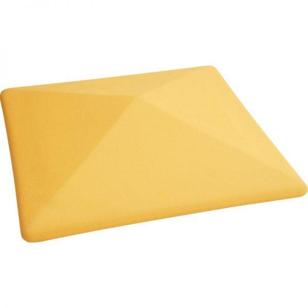 Крышка на столб желтый цвет