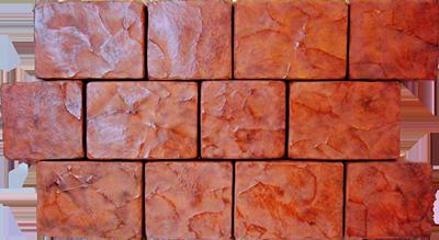 Тротуарная плитка Старый Арбат - красная(40 мм)