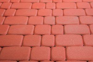 Тротуарная плитка старый город красная