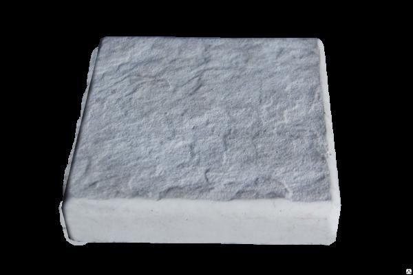 Тротуарная плитка Одесский булыжник серый