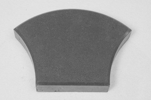 Тротуарная плитка ЖЕМЧУЖИНА серый