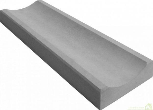 Водосток большой серый