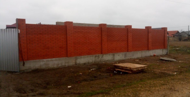 Забор из клинкерного кирпича - Санджейка в Одессе