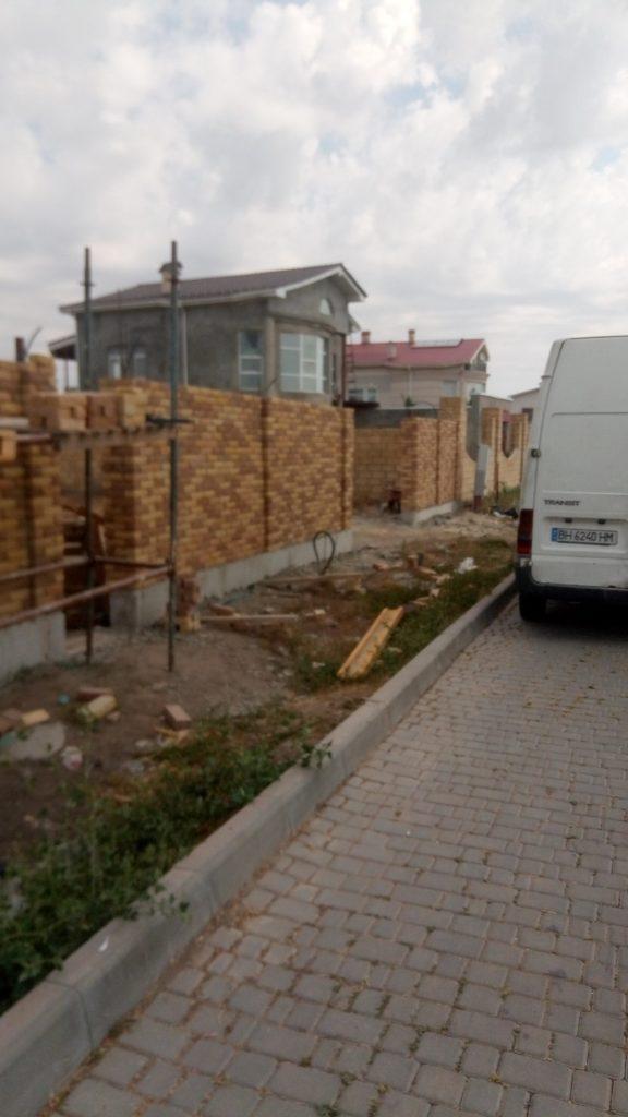 Строительство забора Одесса заказать