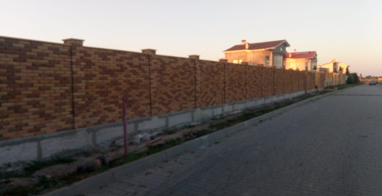 Заказать строительство забора Одесса